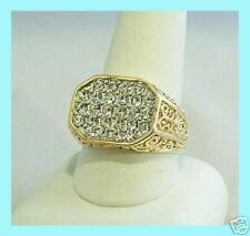 ELVIS TCB JEWELRY 1968 SPECIAL IF I CAN DREAM SONG RING