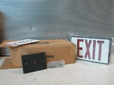 HUBBELL LED-1-EM-SPC  EXIT SIGNS (NEW IN BOX)