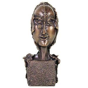 """PAUL WUNDERLICH - orig. Bronzeskulptur """"FRAUENKÖPFCHEN"""" - Galeriepreis 1.800,-€"""