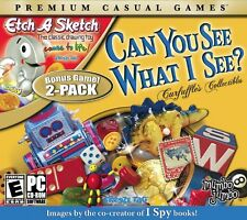 Can You See What I See & Etch A Sketch hidden object seek & find PC Games Window