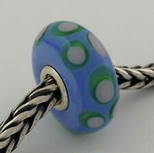 Authentic Trollbeads Ooak Murano Glass Unique Bead #76 Charm, New