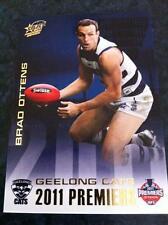 2011 AFL SELECT GEELONG CATS BRAD OTTENS PC12 PREMIERSHIP PREMIERS CARD