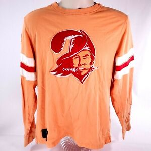 Mens Reebok NFL Vintage Collection Tampa Bay Buccaneers Shirt Jersey SMALL