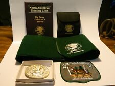 Vintage North American Hunting Club Life Member Collection (5 Pieces) Excellent