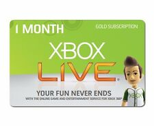Xbox Live 1 Month Gold Membership- Not a trial - Quick Code Delivery