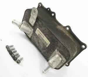 2008-2010 PORSCHE CAYENNE (957) 4.8L V8 ENGINE MOTOR OIL FLUID COOLER