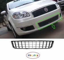 FIAT LINEA 07-13 FRONT BUMPER CENTRE LOWER GRILLE GRILL BLACK/CHROME 735438369
