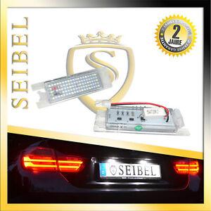 Premium LED Kennzeichenbeleuchtung Opel Insignia Sports Tourer bis BJ 2013 Weiss