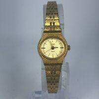 Vintage Citizen Seven Womens 2030-944593 Gold Tone Stainless Steel Quartz Watch