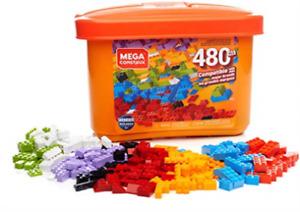 Mega Construx Wonder Builders 480-pc Building Tub