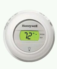 NEW Honeywell T8775C 1005 Round Digital non programmable thermostat Heat & Cool