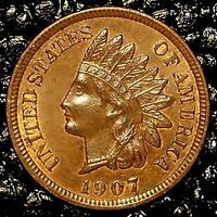 (ITM-3175) 1907 Indian Cent ~ MINT (MS) Condition ~ $20 ORDERS SHIP FREE!