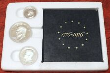 More details for 1976 american 40% silver proof coin set plus box