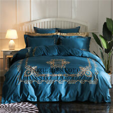 Luxury Egypt Cotton The Palace Treasure Bedding Set Embroidery Duvet Cover Sheet