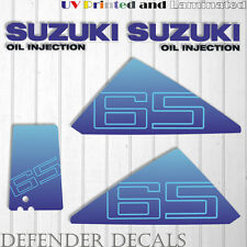 Suzuki 65 hp DT65 outboard engine decal sticker set kit reproduction 65HP