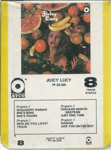 JUICY LUCY S/T ATCO 8-TRACK FACTORY SEALED NEW