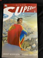 ALL STAR SUPERMAN Vol 1 TPB 1st Print. DC Morrison Quitely