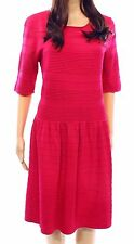 NEW Eliza j pink jacquard knit women's sheath dress.SZ:S