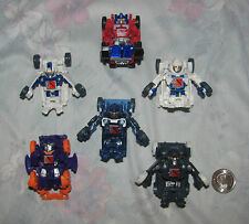 Transformers 2012 Lot of 6 Bot Shots Optimus Prime, Megaton, Bumble Bee, more