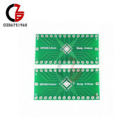2PCS QFN28 0.4mm 0.5mm to 2.54mm DIP Adapter PCB Board Converter IC