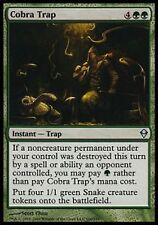 *MRM* FR 4x Piège aux cobras ( Cobra Trap )  MTG Zendikar