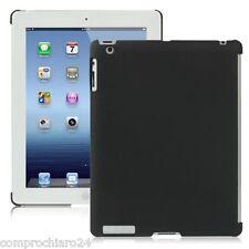 Custodia Nera per iPad 3 Protezione Retro in plastica Anti Graffio Back Cover