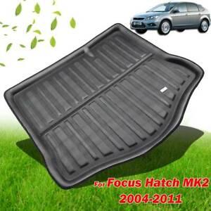 For Ford Focus MK2 Hatchback 05-11 Rear Trunk Mat Boot Liner Cargo Floor Tray