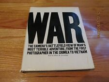 1973 WAR BY ALBERT LEVENTHAL- RIDGE PRESS/PLAYBOY PRESS CRIMEA VIETNAM HC/DJ/IL
