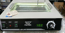 Lab-Line Barnstead AquaLite 26106 Lighted Tissue Float Bath, #39149
