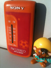 Sony SRF-S80 Radio Empfänger FM Stereo Best TOP Edition Dedicated to Football