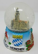 Munich Souvenir Snow Globe With New Town Hall Building