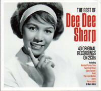 DEE DEE SHARP -  THE BEST OF - 40 ORIGINAL RECORDINGS (NEW SEALED 2CD)