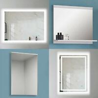 BAD SPIEGEL 40 50 60 cm Badezimmerspiegel Badspiegel mit Ablage Wandspiegel LED