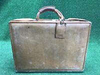 Vintage Hartmann Lawyers Tan Natural Belting Leather Briefcase Attache Case