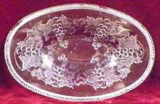 Currant Relish Dish Bowl Campbell Jones & Co Clear Glass EAPG 1871 Antique As Is
