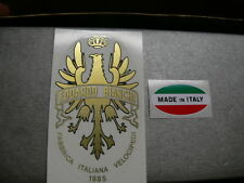 1 sticker head badge for racing bikes Bianchi - + made in Italy vintage