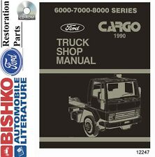 1990 Ford Cargo Truck Shop Service Repair Manual CD Engine Drivetrain Electrical