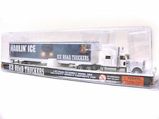 NORSCOT Peterbilt 389 with Ice road truckers White Truck - HO Scale 1:87