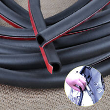 8M Big D Shape Car Auto Rubber Weather Strip Door Hollow Edge Seal Trim Moulding