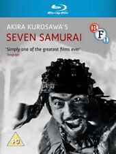 Seven Samurai [Region B] [Blu-ray] - DVD - New - Free Shipping.