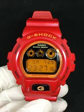 C asio G-shock DW-6900CB-4 Crazy Color Red with Mirror Dial Module 1289 Rare