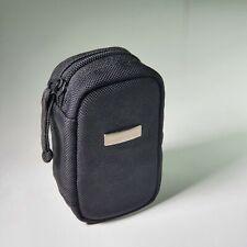 Vintage Genuine Olympus Soft Case Black Compact Digital Camera Pouch Travel Bag