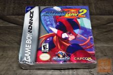 Mega Man Zero 2 (Game Boy Advance, GBA 2003) FACTORY SEALED! - RARE!