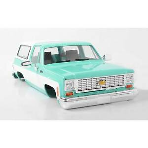 RC4WD 1/10 Chevrolet Blazer Hard Body Complete Set Teal