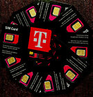 1 Newest TMobile SIM CARD R15 5G 4G LTE 3 In 1 Triple Cut Nano Micro + Tracking