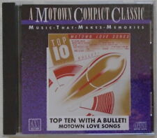 TOP TEN WITH A BULLET-Motown Love Songs-Various Artists - VERY GOOD - CD