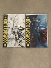 DC Doomsday Clock 1 Gary Frank Variant Covers