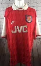 ARSENAL FOOTBALL SHIRT NIKE HOME KIT ORIGINAL 1994-1995-1996 XXL JVC GUNNERS AFC