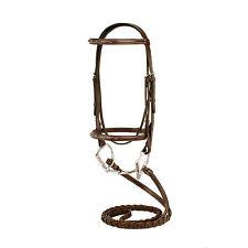 Tackville Brida para Caballos de Caballo Forro Polar Acolchado y Cuerda de Plomo y tama/ños