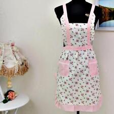 Women Lady Restaurant Home Kitchen For Pocket Cooking Cotton Apron Bib Cute